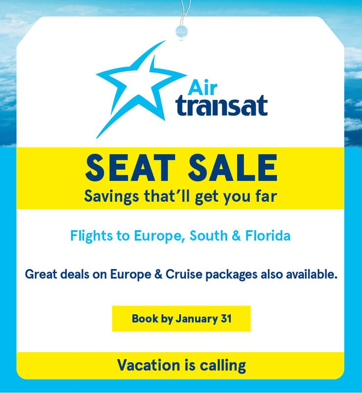 Book your Europe seats now!!  www.srobinson.travelonly.com