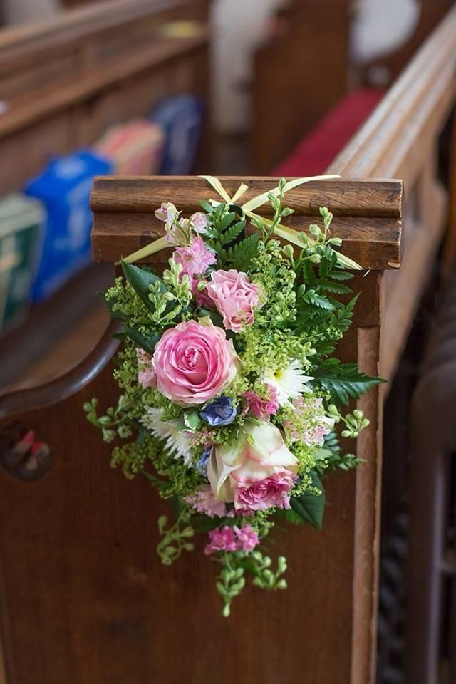 Affordable Wedding Flowers Dallas Tx : Images about pew ends on church wedding
