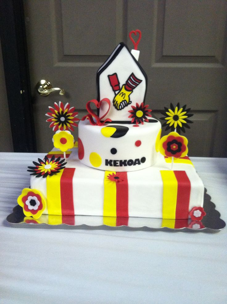 Birthday Cake For Ronald : 29 best images about Ronald McDonald 35 anniversary cake ...