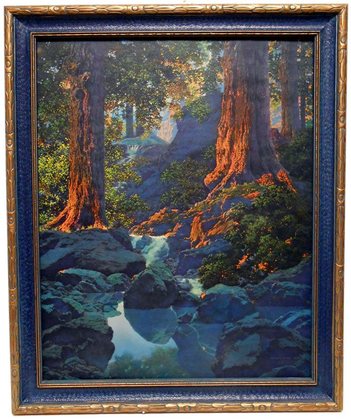 Maxfield Parrish Original Art | Maxfield Parrish ...