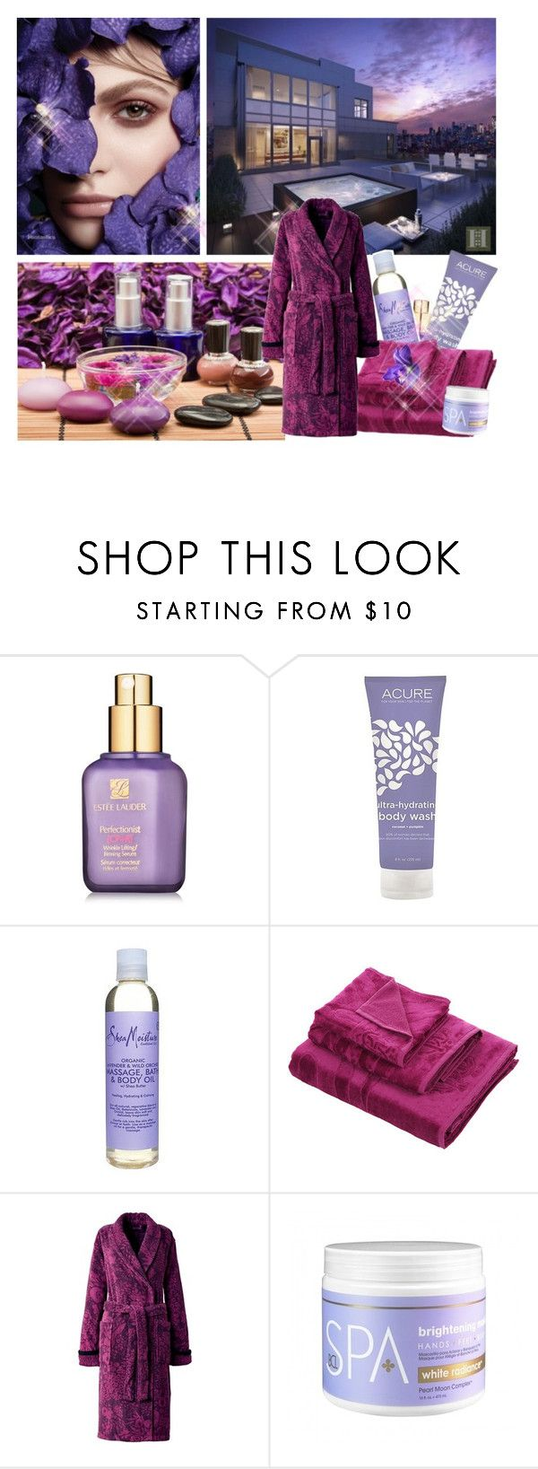 relax in spa :) by screaming-soul on Polyvore featuring beauty, Estée Lauder, SheaMoisture, Sonia Rykiel and Roberto Cavalli