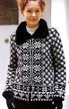 Jakar uzorm Sıcak ceket
