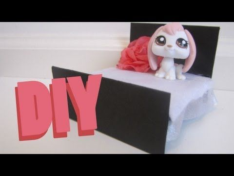 DIY Furniture: How To Make A LPS Bed