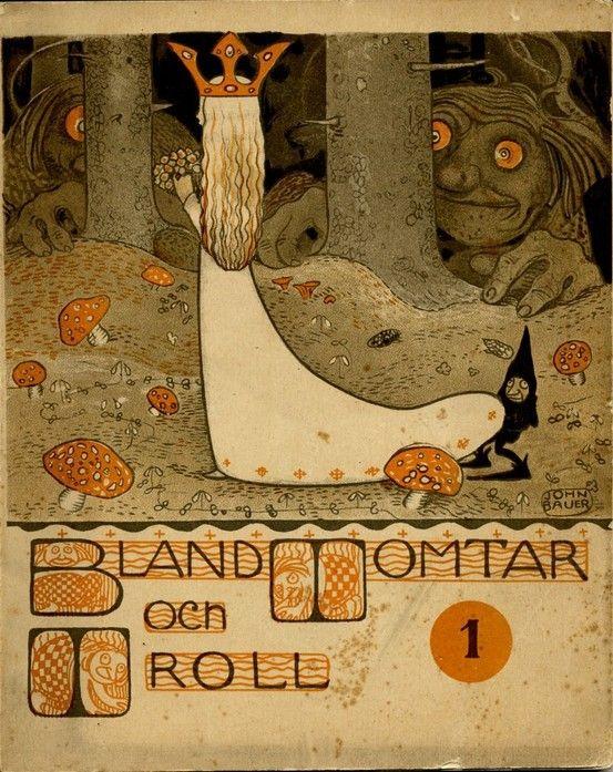 #Bland_Momtar #Troll by #John_Bauer: