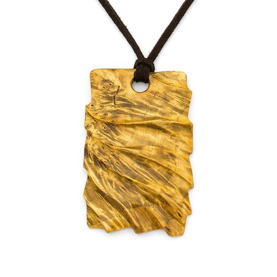 Houten hanger, houten hanger, houten juwelen, sieraden van hout, houten sieraden, houten sieraden