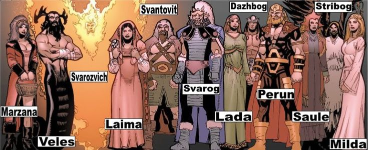 Pantheon-Slavic Gods and Goddesses