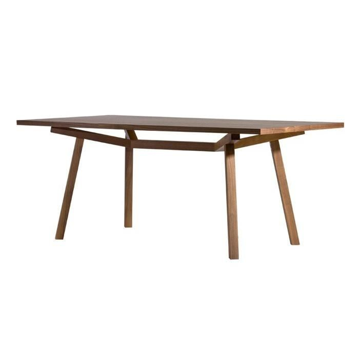 Sean Dix Forte Rectangular Timber Dining Table | Clickon Furniture | Designer Modern Classic Furniture