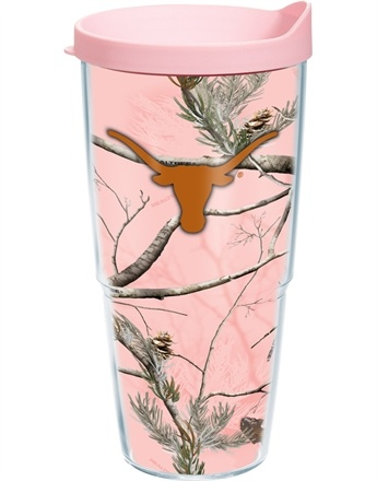@Hannah Gentry  Collegiate | Texas, University of | Realtree Pink Camo Wrap with Lid | Tumblers, Mugs, Cups | Tervis