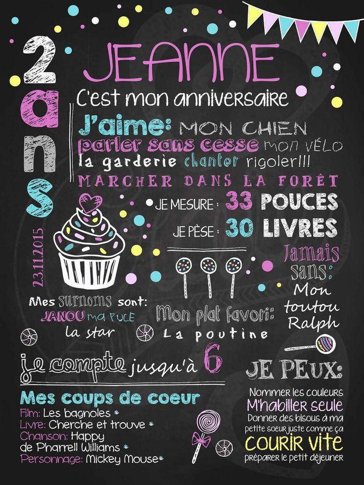 C'est la fête! Petit gâteau et confettis est l'affiche personnalisée toute désignée pour souligner l'anniversaire de votre fillette en couleurs! À noter: l'option Couleurs personnalisées n'est pas offerte pour ce modèle. Aussi disponible en version rouge.