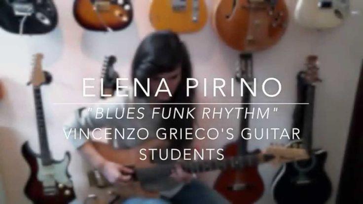 "ELENA PIRINO ""BLUES FUNKY RHYTHM"" (Allievi di V.Grieco) www.vincenzogrie..."