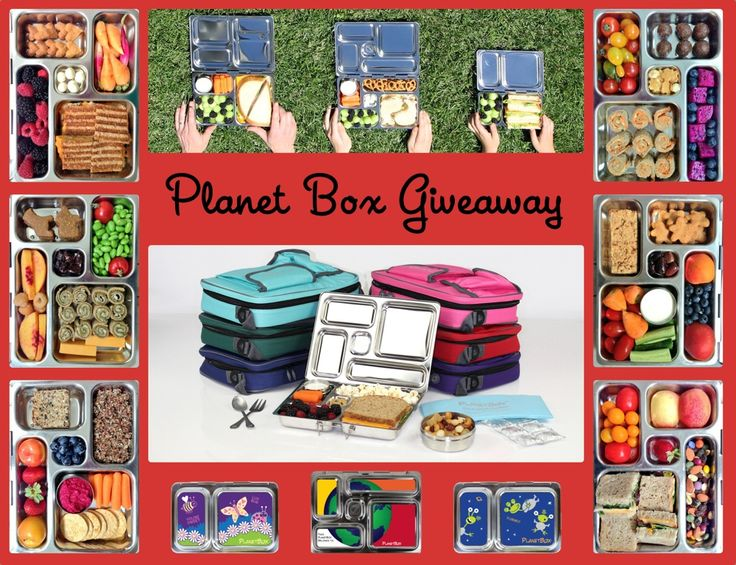 Win One of Five Planet Box's Lunch Boxes #weeliciousgiveaways