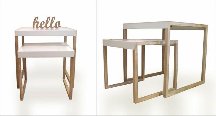 LABORATORIO DE OBJETOS - Muebles recuperados - Deco - Bazar: MUEBLES DE APOYO