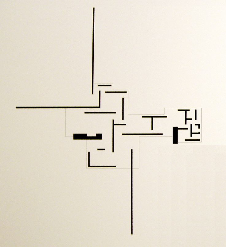 Visual Enjoyment: Brick Country House plan by Ludwig Mies Van Der Rohe