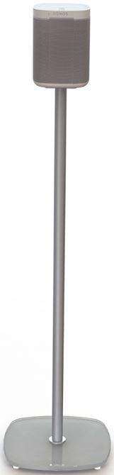Spectral SP10-SV zilver vierkant (paar)  Description: Spectral Sonos Play:1 zilver glas vierkant: standaard voor Sonos Play:1 De Spectral SP10 luidsprekerstands in glossy zilver zijn dé nieuwe onderstellen voor jouw witte Sonos Play:1 (hoewel je zwarte Sonos Play:1 er ook gewoon op past). De slanke aluminium buis kan aan de achterkant opengemaakt worden waardoor je gemakkelijk de kabels beheert. In een handomdraai zijn deze kabels dan ook weer weggewerkt met de uitneembare rubberen strip. De…