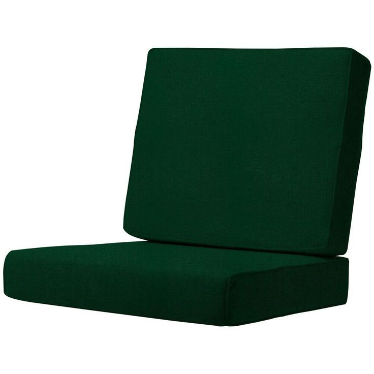 Home Decorators Collection Sunbrella Forest Green Outdoor Lounge Chair Cushion
