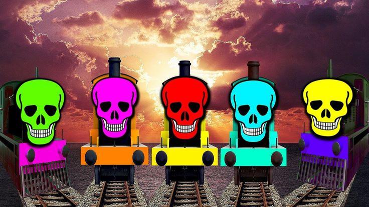 Mega Skeleton Train | Part 9 | Finger Family Collection | Daddy Finger |...