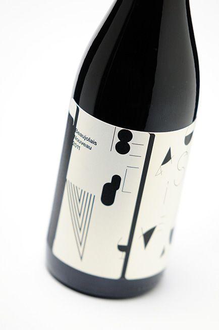 ボジョレーヌーボーワインラベル展 : ロゴ | ロゴマーク | 会社ロゴ|CI | ブランディング | 筆文字 | 大阪のデザイン事務所 |cosydesign.com