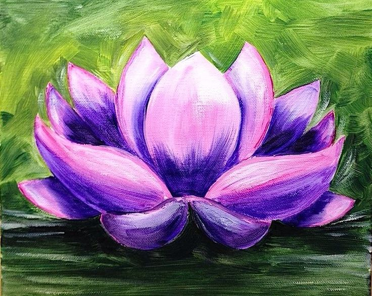 Paint Monkey's Lotus Flower.