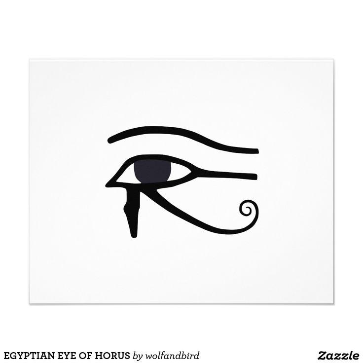 ÄGYPTISCHES AUGE VON HORUS 11,4 X 14,2 CM FLYER