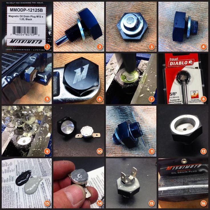 electric radiator fan switch/CX500