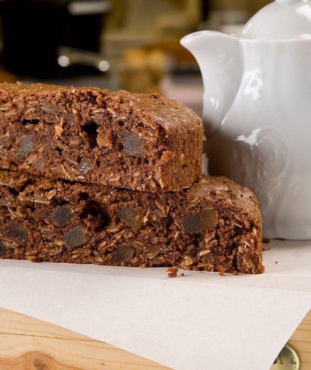 Κέικ σοκολάτας με ginger