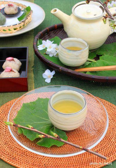Japanese green tea.   www.adagio.com
