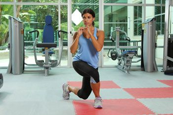 Feeling pressed for time? Instead of ditching your workout, try cutting down the length of your next sweat session by kicking up the intensity. This 10-minute workout, which is based off of the five primary movement patterns—bend and lift, single-leg movements, pushing, pulling and rotation—can be done almost anywhere, anytime using just one weight of your choice.