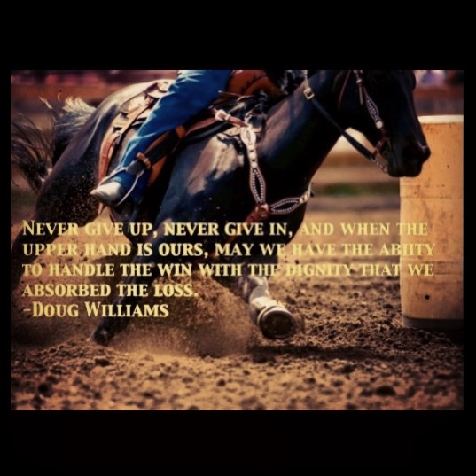 barrel racing quotes tumblr - photo #5