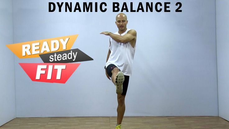 Get Ready To Work Out    Dynamic Balance    Sagittal and Rotational Plan...