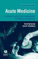 Acute Medicine : A Practical Guide to the Management of Medical Emergencies: EBSCOhost