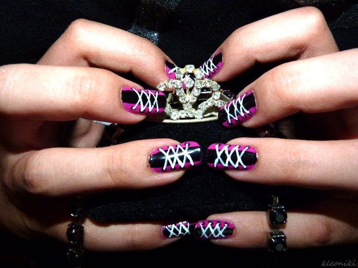 47 Best Corset Nail Art Images On Pinterest Corset Nails Fingernail Designs And Nail Scissors