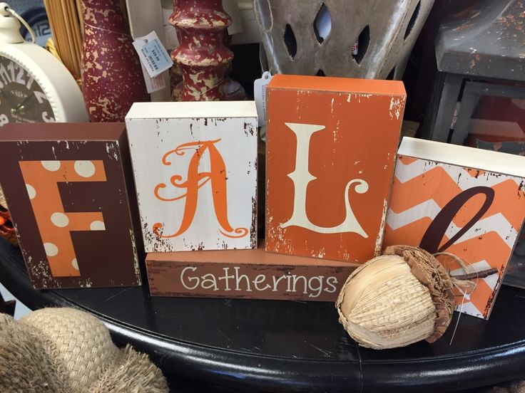 TGIF!! Come to Real Deals and find some amazing FALL Decor! We are OPEN 10-5pm today!!