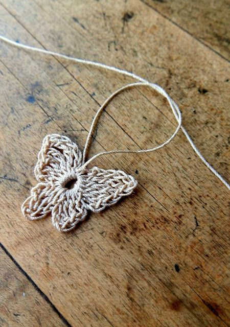 ~ crocheted butterfly tutorial