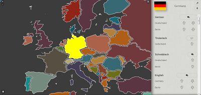 Interaktive Weltkarte: Locallingual