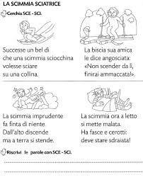 48 best sillabe images on pinterest montessori italian for Schede didattiche sci sce