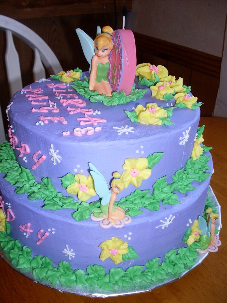 Cake Designs Tinkerbell : 25+ best ideas about Tinkerbell cake topper on Pinterest ...