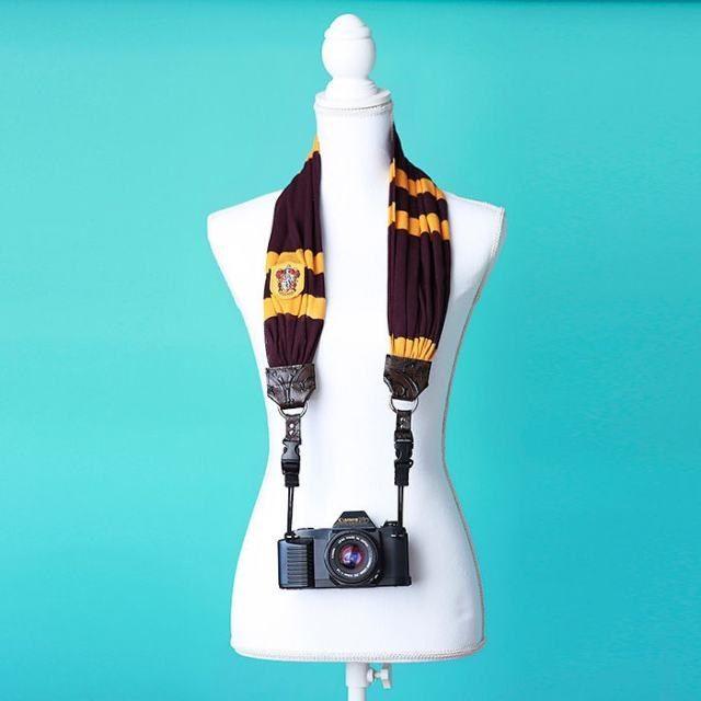 Um prendedor de máquina fotográfica inspirado em Harry Potter