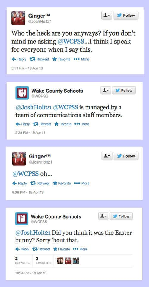 When Wake County Schools threw some shade at this student. | 14 Times Brands Showed Their Sassy Side On Twitter
