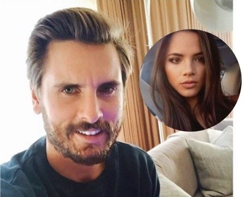 Christine Burke Scott Disick's model girlfriend