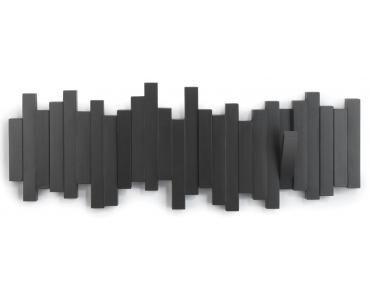 Kapstok Sticks zwart 5 haken - Umbra