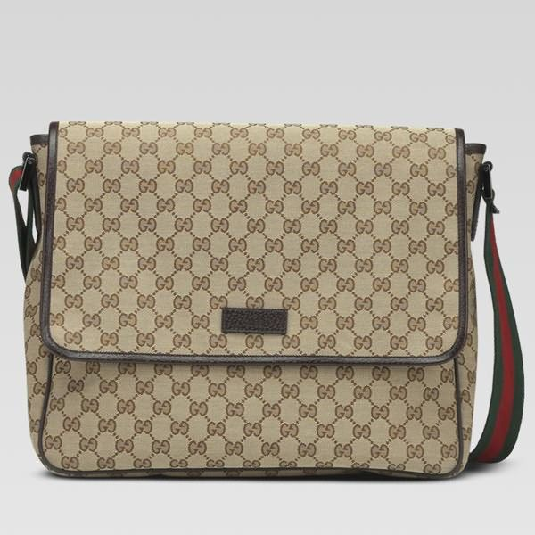 gucci bags mens. gucci medium messenger bag 233052 in beige/brown bags mens