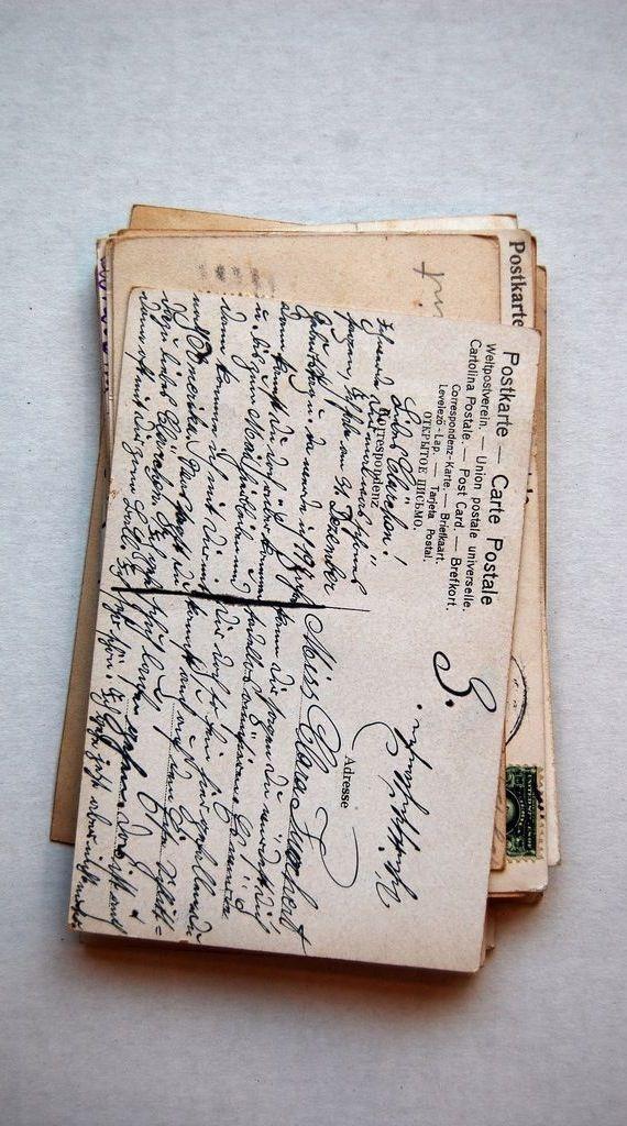 Lovely old postcards..