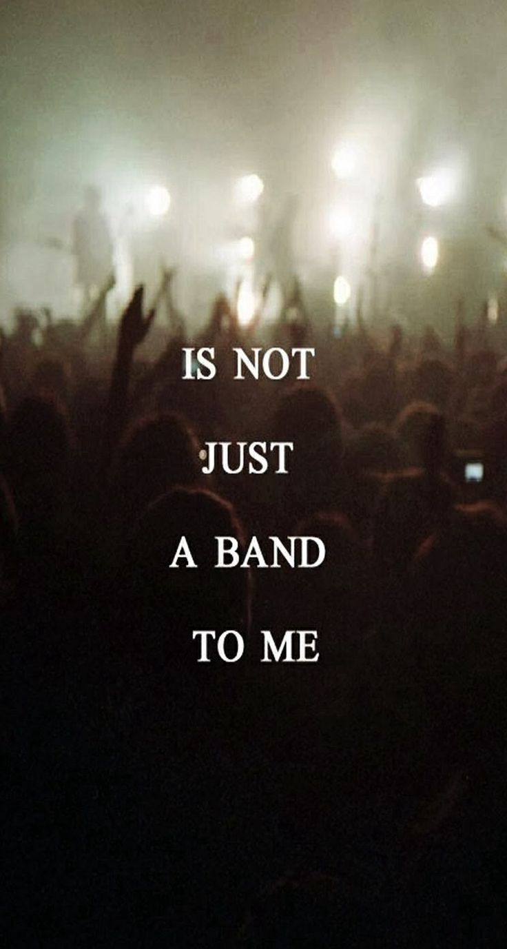 It Was Never Just A Band Anthem Lights Music Bands Music