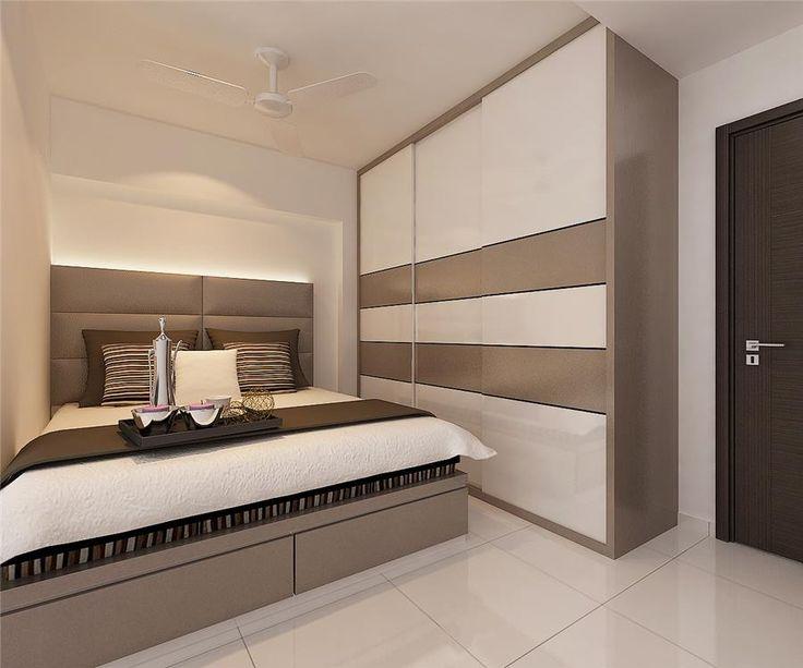 Bukit panjang 4 room hdb at 38k interior design singapore designs pinterest interiors Master bedroom reno ideas