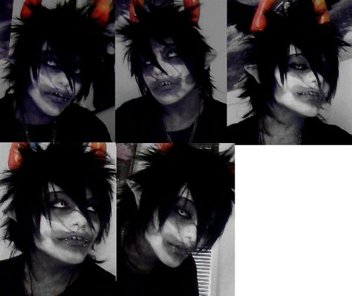 super wow awesome homestuck gamzee cosplay!!!