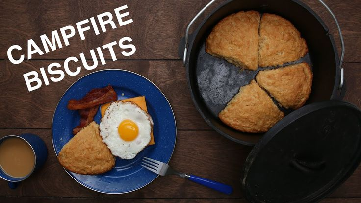Easy Campfire Biscuits - YouTube
