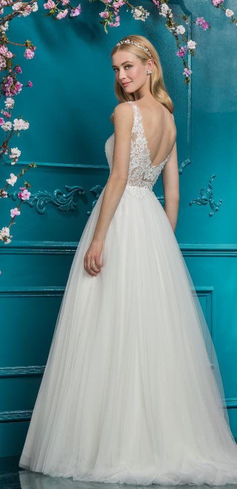 463 best A-Line Wedding Dresses images on Pinterest