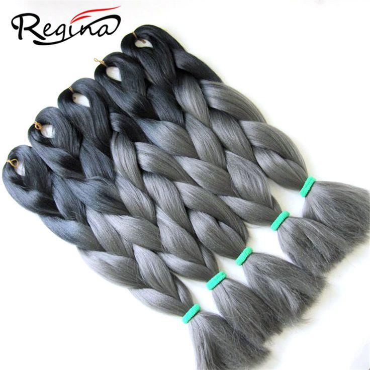 """24"""" Crochet Braid Hair Senegalese Twist Expression Jumbo Micro Braiding Hair Marley Box Freetress Ombre Gray Braiding Hair 100g #http://www.jennisonbeautysupply.com/ #<script http://www.jennisonbeautysupply.com/products/24-crochet-braid-hair-senegalese-twist-expression-jumbo-micro-braiding-hair-marley-box-freetress-ombre-gray-braiding-hair-100g/, より多くを保存しアプリ 24 Crochet Braid Hair Senegalese Twist Expression Jumbo Micro Braiding Hair Marley Box Freetress Ombre Gray Braiding Hair 100g Brand…"""