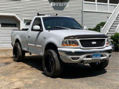 2003 Ford F 150 22x12 44mm Fuel Maverick Ford F150 Ford Trucks Ford