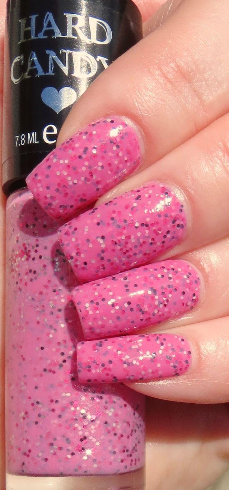 Hard Candy Nail Polish - Pink Taffy